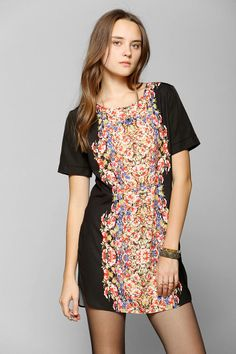 Backstage Antoinette Silky Tee Dress I want you so bad!!!