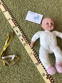 Meten, hoe groot is de baby Baby Theme, Baby Center, Babys, Preschool, Projects, Babies, Log Projects, Blue Prints, Infants