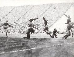 first game played at Memorial Stadium on November 24, 1923