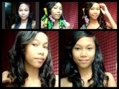 No Heat Romantic Curls (Magic Leverag) Hair Tutorial