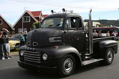 1948 Ford F-5 Cabover | Beach Hop '09 - Whangamata, New Zeal… | Flickr
