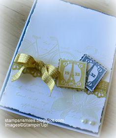 Stampsnsmiles: Summer Starfruit!  Postage Due stamp set stampin up