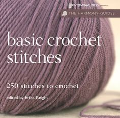 For those searching for stitch inspiration, this handbook brims with more than200 new and old stitches to delight crocheters of all skill levels. Packedwith tips and tricks, the guide outlines basic crochet techniques in additionto the latest trends in contemporary yarns--all of which are accompanied byeasy-to-follow instructions. Projects include using the single cluster crochetstitch as a great foundation pattern for a textured scarf or implementing atrinity stitch to add warmth to an afghan d Crochet Basics, Knit Or Crochet, Learn To Crochet, Crochet Crafts, Double Crochet, Sewing Crafts, Simple Crochet, Beginner Crochet, Crochet Books