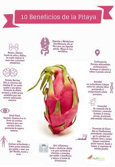 10 beneficios de comer pitaya. www.nutrivive.mx