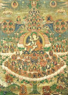 Tibetan Buddhist thangka