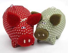 свинья   игрушки от А. Удаловой и О. Хлебниковой