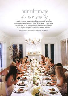dinner party!