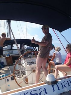 you can be the skipper Chios, Sailing, Greece, Travel, Viajes, Boating, Traveling, Tourism, Outdoor Travel