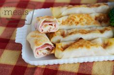 Ham and Cheese Egg Rolls