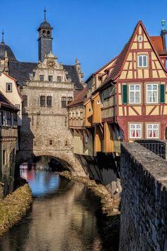 Marktbreit, Bayern, Deutschland