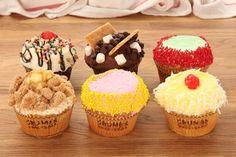 Crumbs Bake Shop offers over 50 varieties of unique cupcakes.
