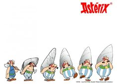 Obelix through the years