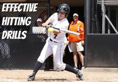 Today we're going to talk about some softball drills that focus on hitting; doing these types of drills is the foundation to becoming a better hitter. Softball Workouts, Softball Pitching, Softball Coach, Girls Softball, Fastpitch Softball, Softball Players, Softball Stuff, Softball Things, Softball Cheers