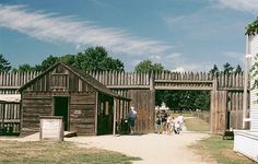 Hudson's Bay outpost Fort Vancouver in Vancouver, WA