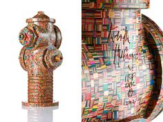 Wooden Mosaic Sculptures by Haroshi