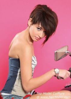 Pixie Cut With Long Forelock - Free Download Pixie Cut With Long ...