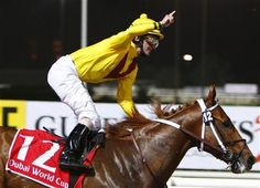 Curlin, reigning 2007 Horse of the Year, won the Dubai World Cup with a record-setting 7 length victory over Asiatic Boy