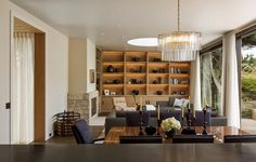 Modern furniture living room sofa upholstered wooden wall Chandelier Crystal