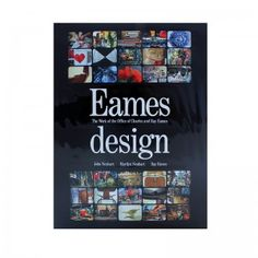 Buy this and authentic Eames products at  http://shop.eamesoffice.com/ Eames Design book