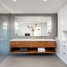 Master Bath Remodel, Master Bathroom, Lavabo Design, Contemporary Bathroom Designs, Inspiration Design, Amazing Bathrooms, Kitchen Design, Decoration, New Homes