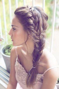 Braided prom hair