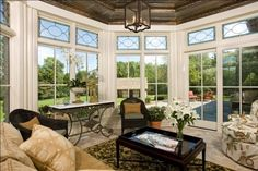 Sunroom, like windows.