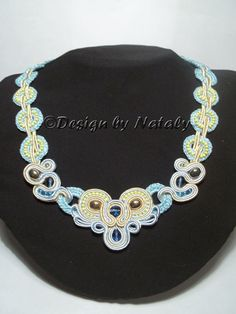 FREE SHIPPING until April 2 OOAK Soutache  And by DesignByNataly, $30.00