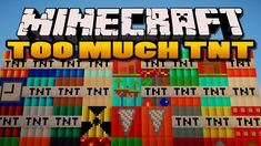 Too Much TNT Mod provides many new blocks of TNT and throwable dynamite in-game to use. These new blocks aren't common TNT blocks, although. Boondocks Season 4, Tnt Minecraft, Redstone, Wipe Out, Biomes, Hobby, Power Rangers, Arrows