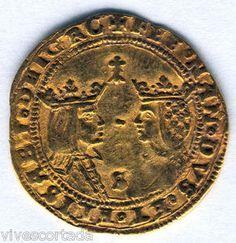 Reyes Catolicos Doble Excelente Sevilla Oro 1474 al 1504 @ Muy bella @   eBay