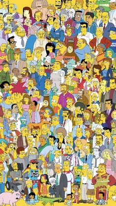 simpsons wallpaper by - 49 - Free on ZEDGE™ Simpson Wallpaper Iphone, Ipod Wallpaper, Homescreen Wallpaper, More Wallpaper, Cute Wallpaper Backgrounds, Aesthetic Iphone Wallpaper, Cellphone Wallpaper, Cartoon Wallpaper, Cute Wallpapers