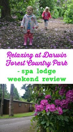 And relax...our spa lodge weekend in Darwin Forest couldn't have come at a better time. Here's a review of a family holiday near Matlock in Derbyshire