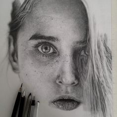 Photo-Real Drawings by Monica Lee