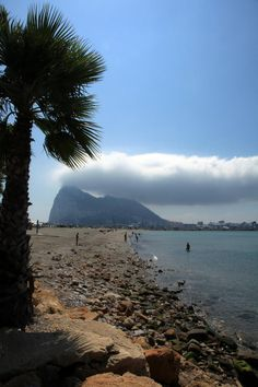 The Rock. Gibraltar generating it's own very British weather system.