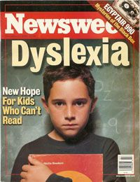 newsweek Dyslexia and the New Science Of Reading