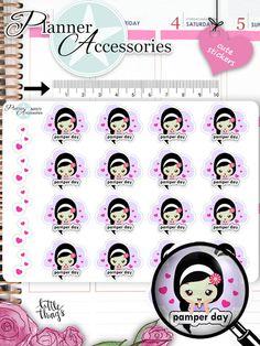 Sticker - Beauty Time Sticker NR976 - ein Designerstück von PlannerAccessories bei DaWanda