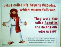 Bible Fun For Kids: The 12 Disiples of Jesus