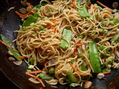 A KITCHEN ENDEAVOR: A Tangle of Noodles