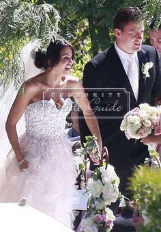 Jenna Dewan and Channing Tatum at Their Wedding  Malibu, CA/ July 11/09