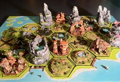 3D Settlers of Catan DIY by bradlyvancamp