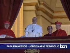 Elezione Papa Francesco - Habemus papam, discorso e benedizione - Senza interruzioni
