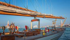 Venezia dalla barca