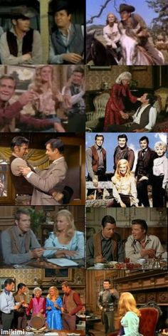 THE  BARKLEY 'S   ON  THE  BIG  VALLEY Looooved and still life this show! Amazing cast!
