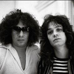 Alex and Eddie Van Halen ❤️  1978                                                                                                                                                     More