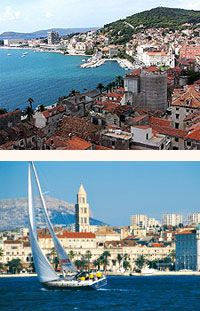 Holidays to the beautiful, animated city of Split, Croatia