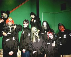 The early days of Slipknot #Maggot4Life #SlipknotIsLife