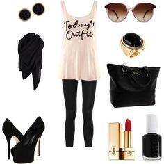 My default outfit!!!  Love this style! ~Stephanie~