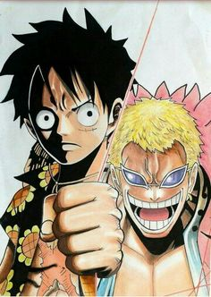 Luffy vs doflamingo