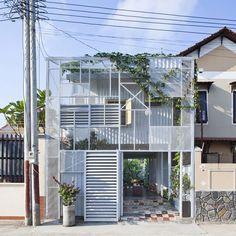 【開放感と内包感】鳥かごに包まれた内なる空間 | 住宅デザイン