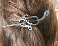 Image result for hand forged hair pins