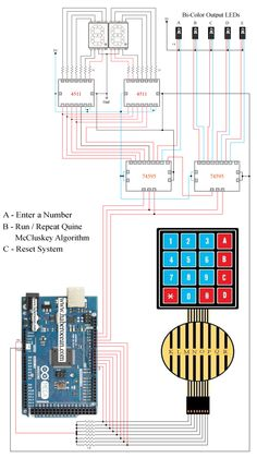 Circuit to Implement Quine-McCluskey Algorithm using Arduino Mega  Read more at…